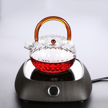 220v PC Electric Ceramic Stove Heaters Heat Resistant Clear Glass Teapots Water Kettle Coffee Milk Pots Teaware Accessories фото
