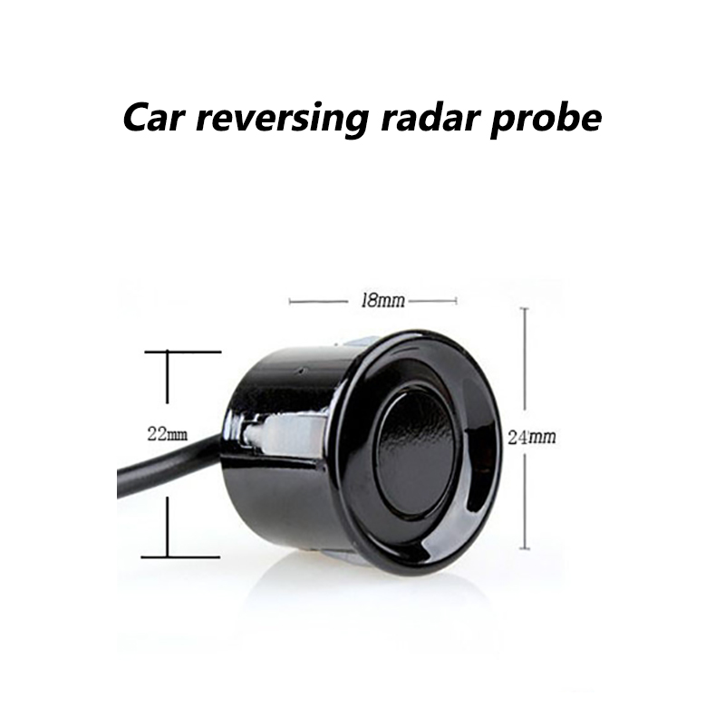 Image 3 - 2.5M Probe Line Parking Sensors Car Anti interference Reversing Radar Waterproof Auto Parking Sensor 22mm Probe Parking Detector-in Parking Sensors from Automobiles & Motorcycles