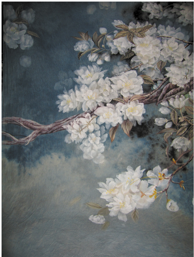 2*2.5m Hand painted scenic Muslin photo backdropsK3460fotografie achtergronden,photography backdrop,backgrounds for photo studio