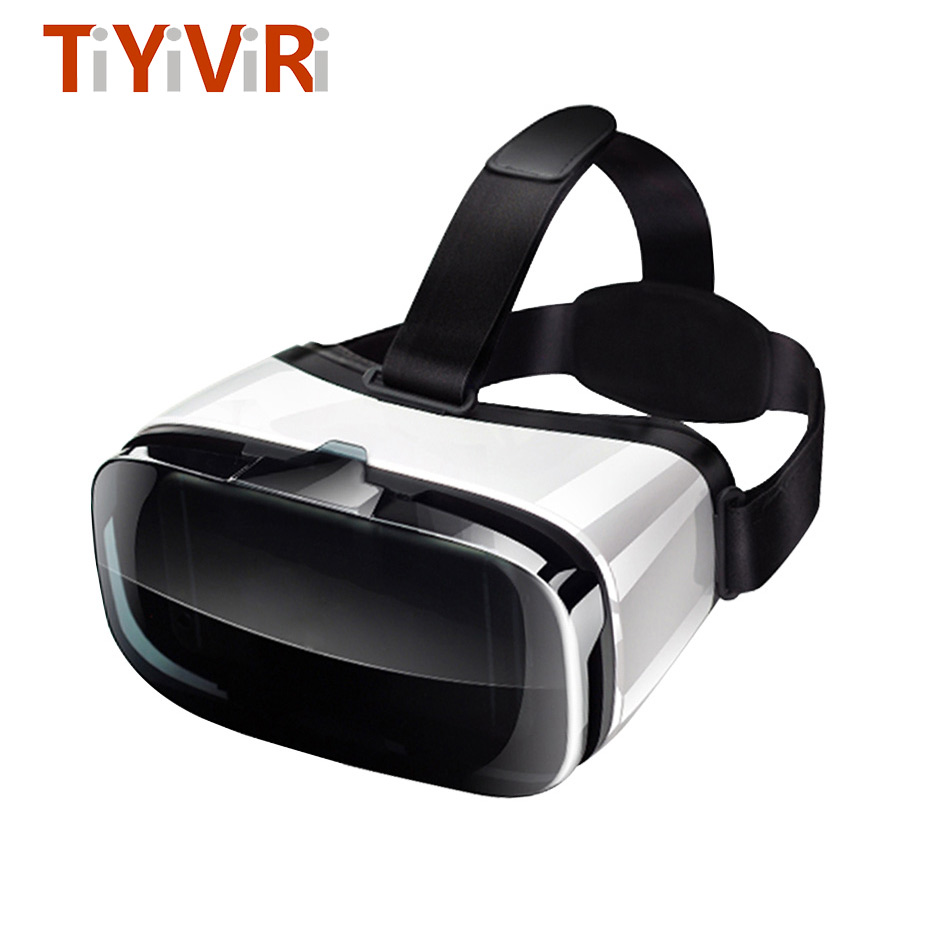 VR Box 3D Headset Cardboard Virtual Reality Goggles Glasses For Smartphone 4.5-6.3
