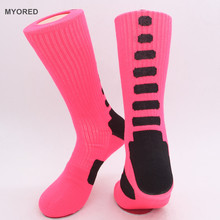 Myored осень-зима мужские носки удобные мужские носки из хлопка Терри защита колена длинные носки Meias Masculina