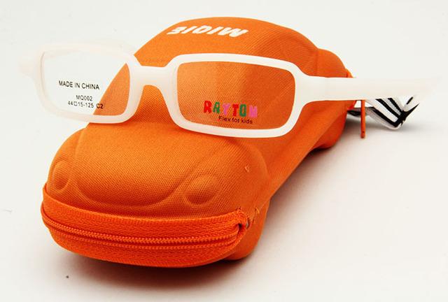 Frete grátis crianças acessórios de fibra de carbono com segurança caixa de moda óculos