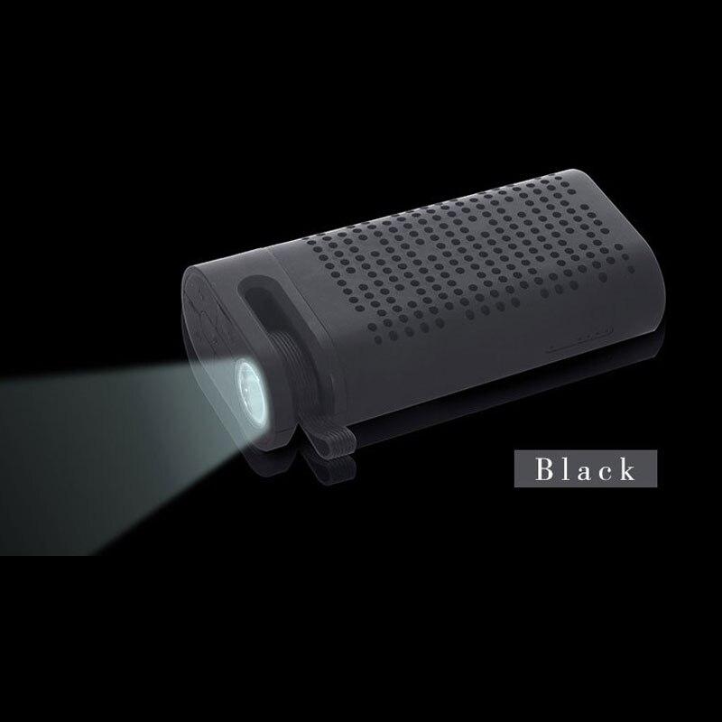 1 St Nieuwe Led-verlichting Kleine Geschenken Multifunctionele Mobiele Power Bluetooth Speakers Fm Radio Grote Capaciteit Lange Standby 4400 Ma 3 V