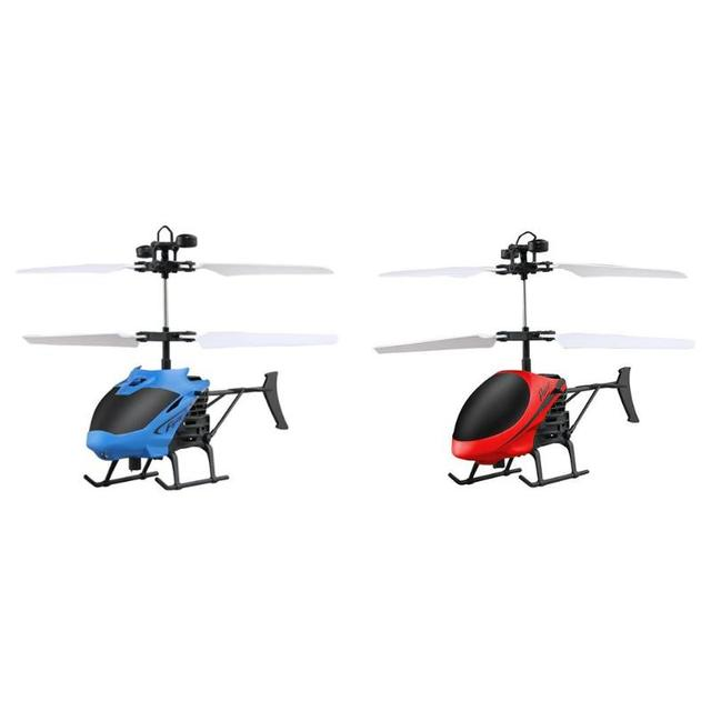 US $7 98 20% OFF|D715 Flying Mini RC Drone Induction Helicopter USB Charge  LED Flashing Light RC Remote Control Aircraft Three seconds rise fall-in RC
