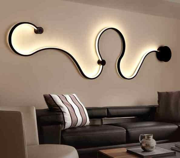 Декоративный светодиодный светильник-Люстра для спальни прохода коридора Настенный бра для отеля светильник Настенный бра скандинавский Бра Лампа