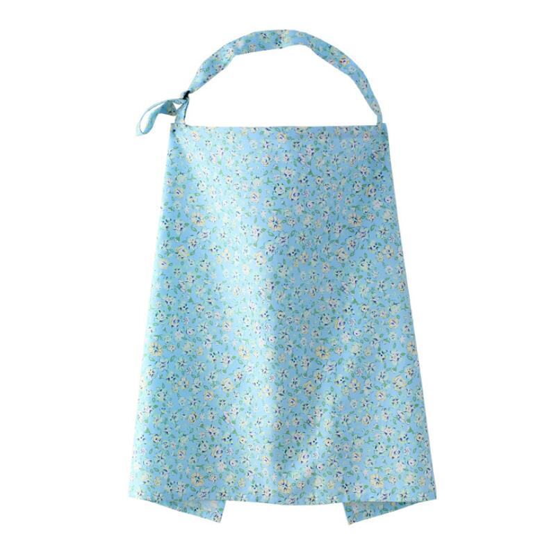 Nursing Cover Cotton Cape Feeding Clothing For Breastfeeding Pregnant Women Apron Breastfeeding Cover Baby Blanket 8 Styles