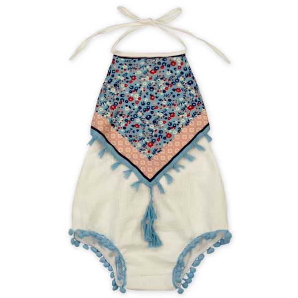 f769b38e3a92 Infant Baby Girl Floral Romper Jumpsuit Outfit Sunsuit Playsuit ...