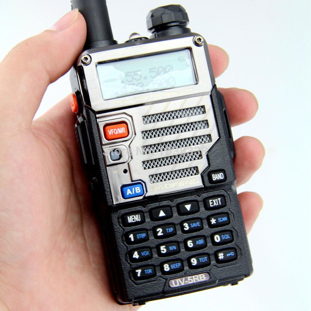 BAOFENG-UV-5RB-Two-Way-Radio-Walkie-Talkie-VHF-UHF-Dual-Band-portable-CB-Ham-Radio