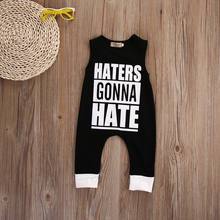 2017 New Arrival Summer Newborn Kids Baby Boys Sleeveless Jumpsuit Romper Playsuit Outfits cotton Clothes 0-4T(China)