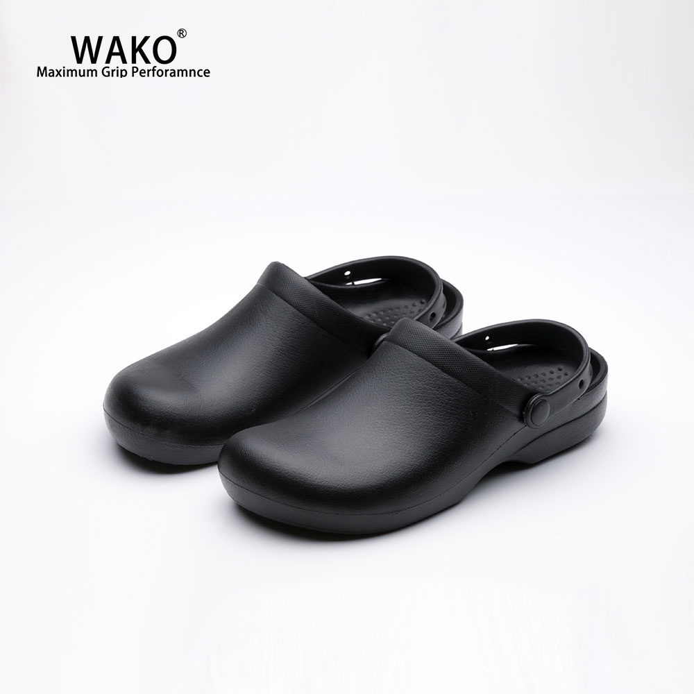 WAKO Chef Shoes Men Women Non Slip Kitchen Working Shoes Waterproof Oil proof Anti Skid Cook Shoes For Hotel Restaurant 9011 in Safety Shoe Boots from Security Protection