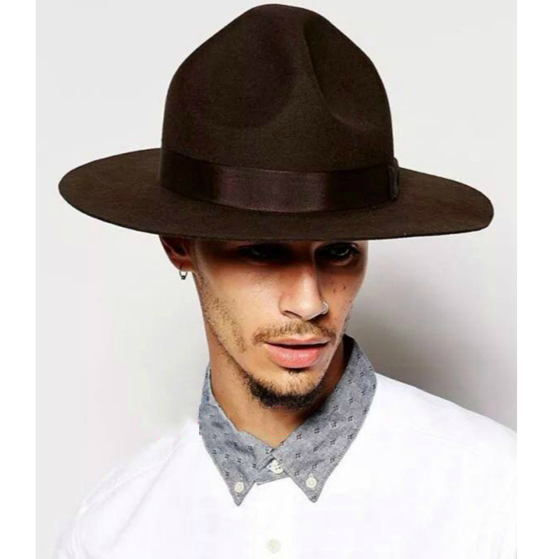 3c179dee99c LIHUA Brand Men s Mountain View Crushable Wool Cowboy Hat