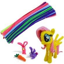 Креативные Игрушки, 100 шт, сделай сам, ручная работа, Обучающие игрушки, плюшевые материалы, игрушки для детей