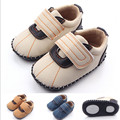 Suede Leather Toddler Baby First Walker Anti Slip Newborn Kids Boys Girl Casual Shoes Crib Baby Loafer Outdoor Shoes