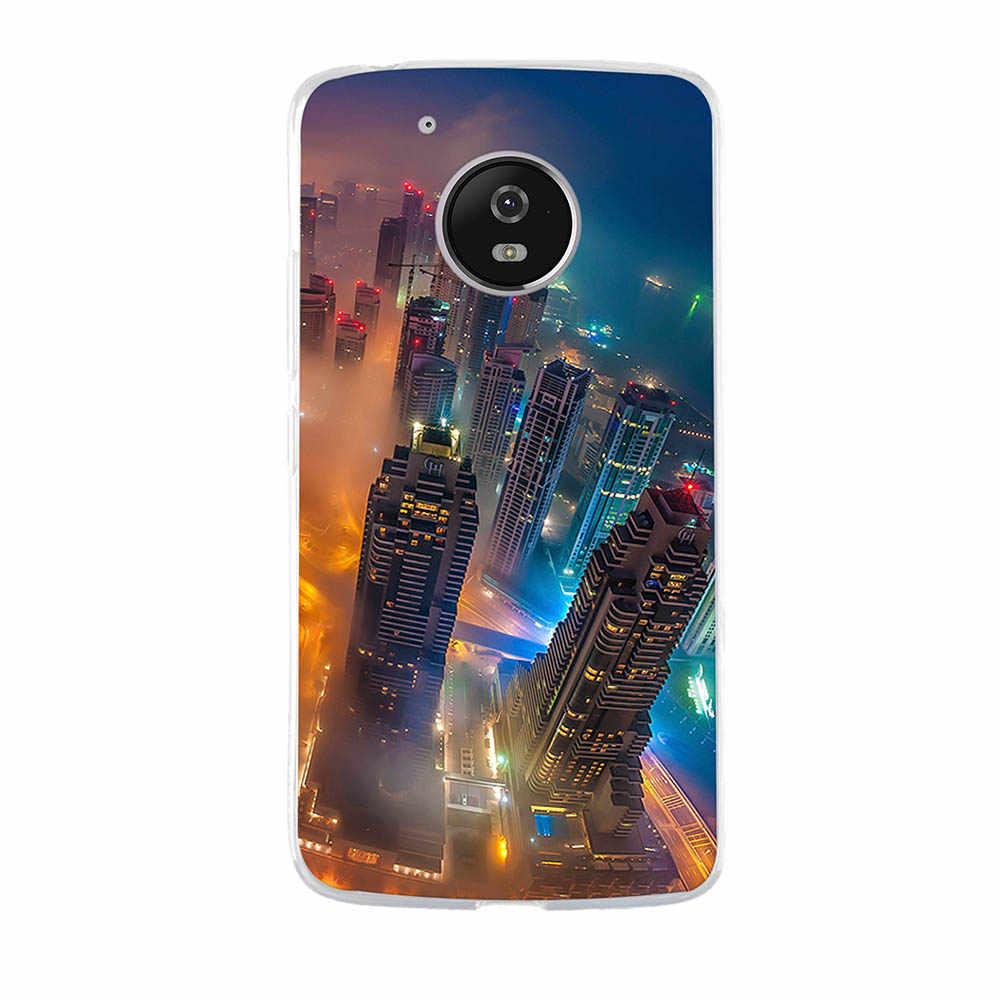 لينة TPU سيليكون جراب لهاتف Motorola موتو G5 حالة غلاف لهاتف motorola Moto G5 S E4 C زائد 2017 E5 G6 Z2 اللعب فوندا كابا عودة كوكه