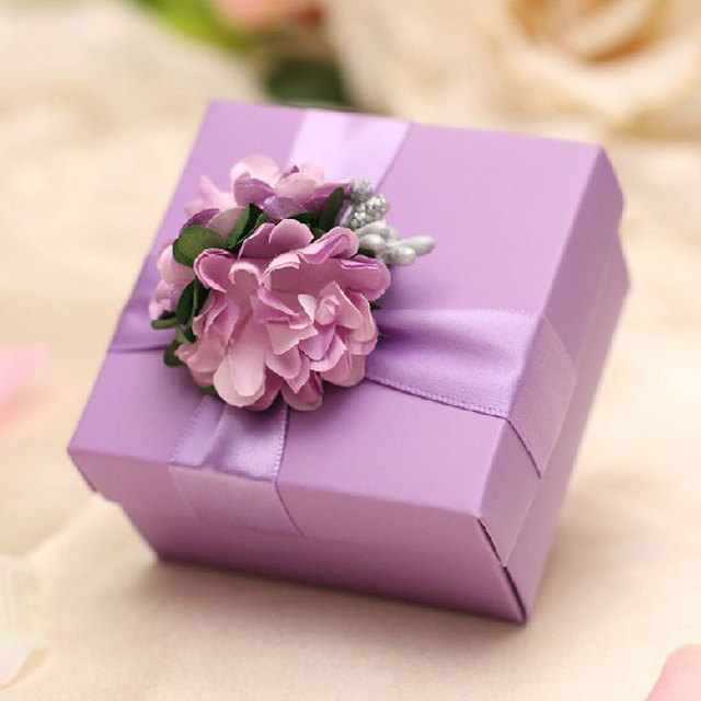 2016 New Party Favors Supplies Romantic Wedding Favors Gifts Box ...