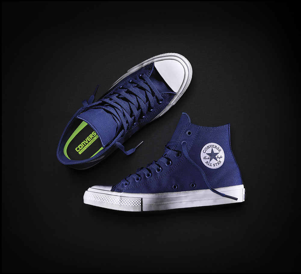dc1ae14d7a5de0 ... NEW Converse Chuck Taylor All Star II High men women s sneakers canvas  shoes Classic pure color ...