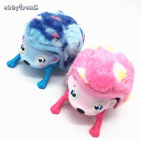 Abbyfrank Electric Simulation Hedgehog Toys Intelligence Interactive Laugh And Sound Sensor Stuffed Plastic Animal Toy For