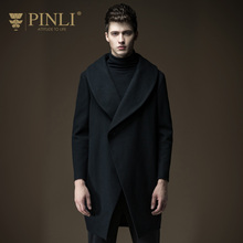 2017 Microfiber Peacoat Coat Men New Arrival Standard Pinli Autumn Men's Clothing Medium-long Overcoat Outerwear B163602290