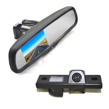 Vardsafe VS540R   Reverse Backup Camera + Replacement Rear View Mirror Monitor for Chevrolet Epica Lova Aveo Captiva Cruze