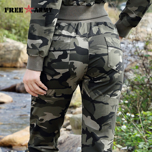 Image 5 - Brand New Spring Army Camouflage Pants Women Slim Pants Ladies Military Trousers Print Elastic Waist Fashion Casual Pants Female