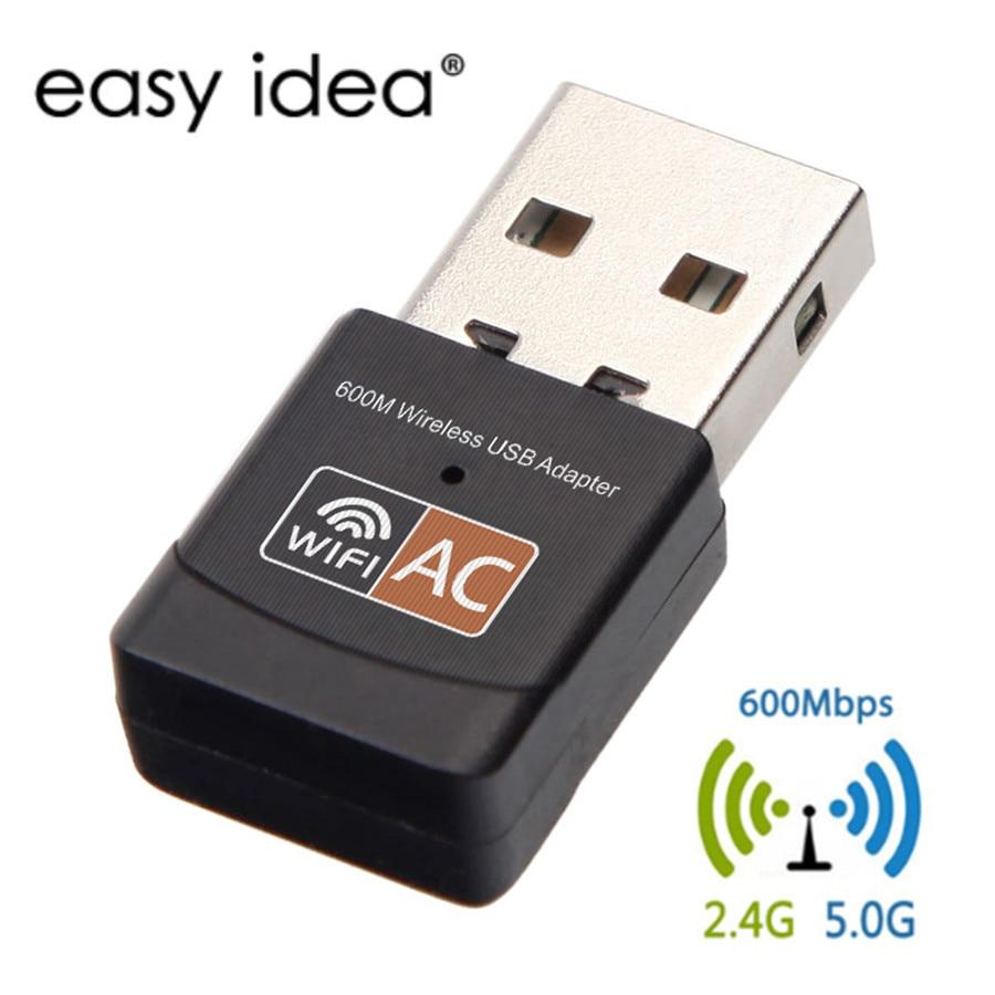 USB Wifi Adapter 600 Mbps Wireless Wifi Dongle 2,4g 5g Dual Band Netzwerk Karte Antenne wi-fi USB Ethernet adapter 802.11n/g/a/ac