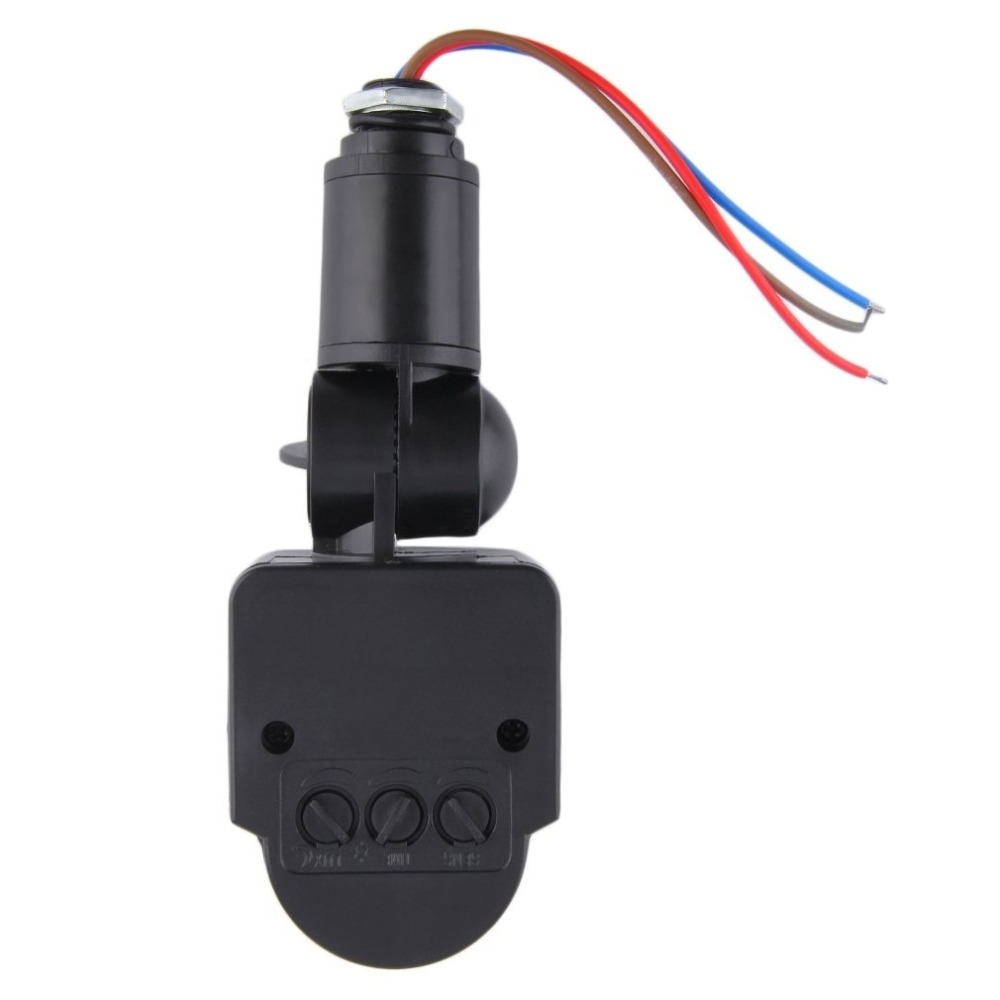 Automatische Infrarot PIR Motion Sensor Schalter Universal Professionelle Motion Sensor Licht Schalter Outdoor AC 220 V Mit LED Licht