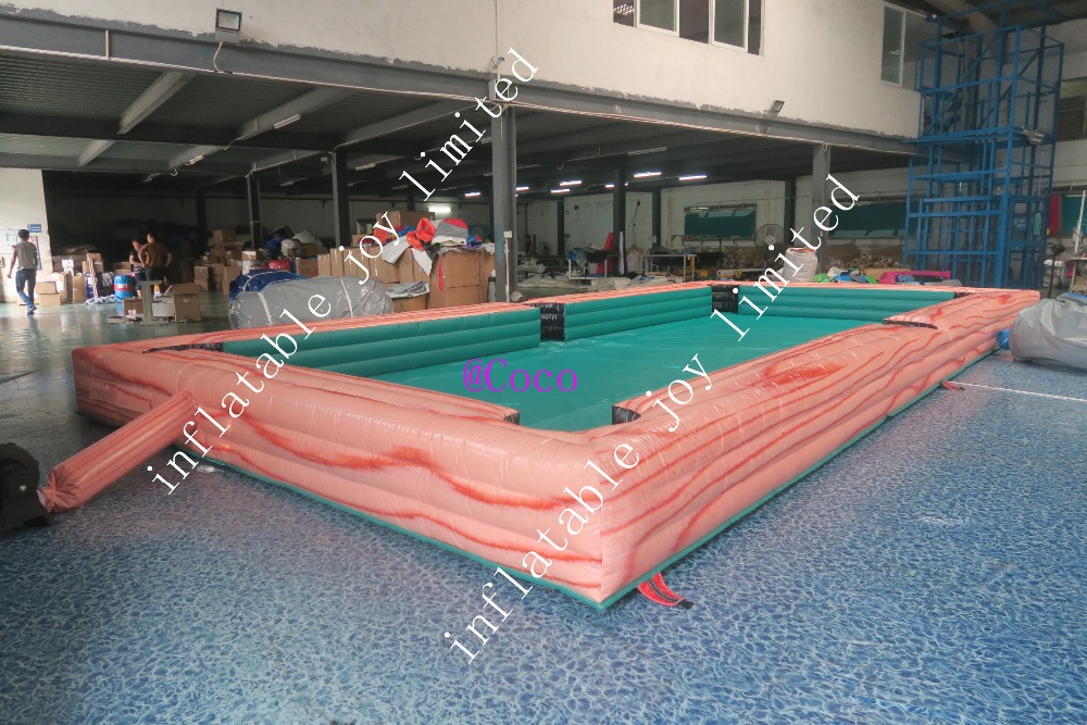 10x5m 33x17ft Pvc Inflatable Pool Soccer Table/giant