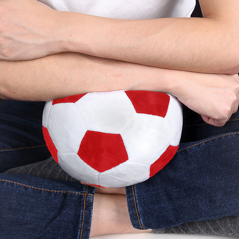 20cm New Football Plush Toy Baby Dolls Home Decor Stuffed Ball Dolls Pillow Birthday Gifts Toys For Children