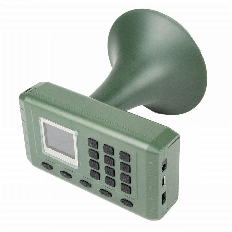 Chasse leurre oiseau appelant oiseaux son haut-parleur électronique intégré lecteur Mp3 avec télécommande minuterie jouer haut-parleur