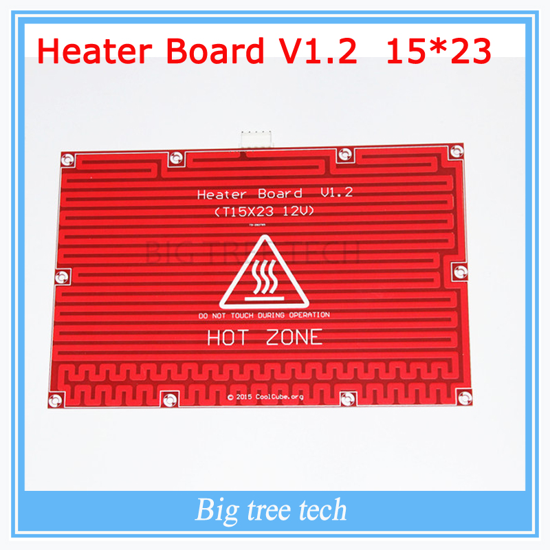 1pc Hot Bed Heat Plate Makerbot 3d Printer Kit Reprap 3D Printer 12V Hot Bed Heat Plate Heat Bed PCB 150*230 reprap mk2a aluminum heat bed 12v 24v 327 327 3mm pcb standard hot plate 3d printer parts