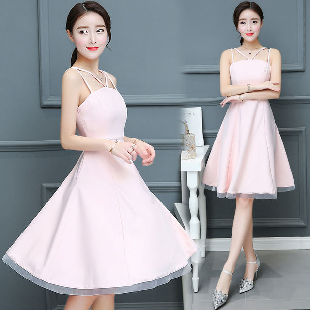 Cute Knee Length Dress