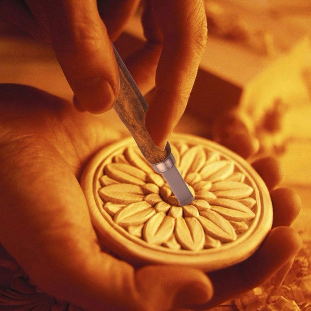8tk puidust nikerdusriistade komplekt nuga Minipeitel tellitud - Tööriistakomplektid - Foto 5