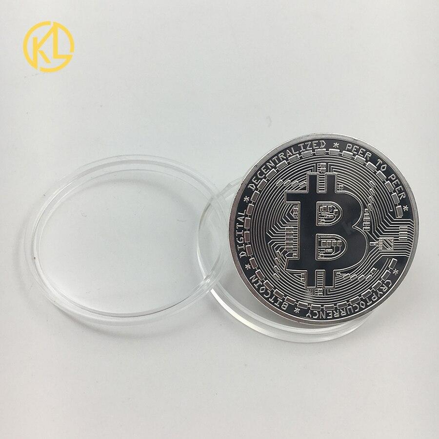 CO017 1 шт. не монеты иностранных валют Dash эфириум Litecoin пульсация Биткойн XMR Monero монета 8 видов памятных монет Прямая - Цвет: CO-019-2