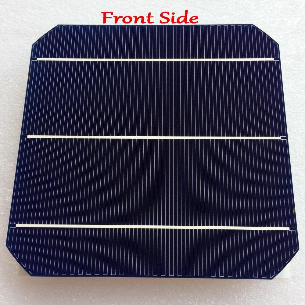 6.45 W/pc mono cellule solaire plus récent Double face 156mm monocristallin Mono silicium cellule solaire nouvelle haute efficacité Grade A-in Cellules photovoltaïques from Electronique    3