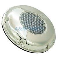 Caravan Boat Exhaust Fan Solar Air Vent Deck Ventilator W/ Battery Switch Combo