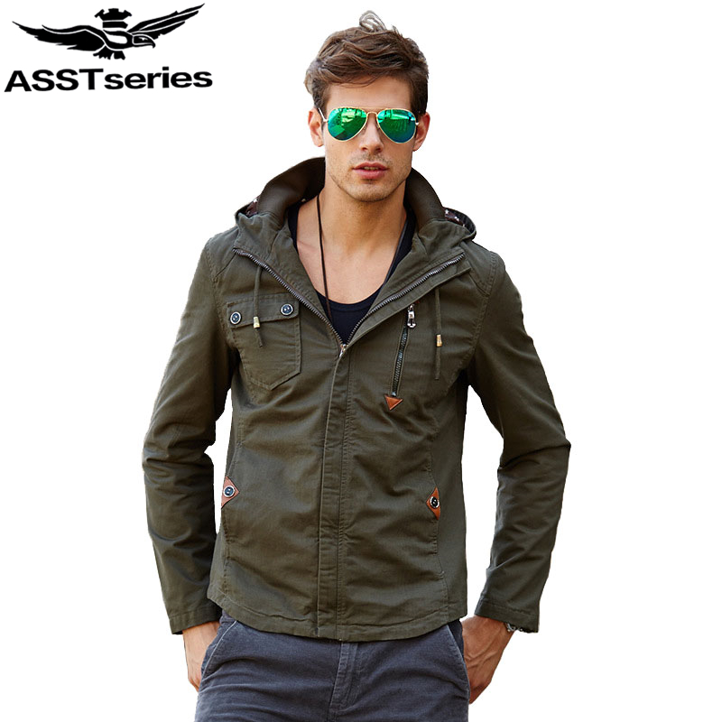 2019 Autumn & Winter Men's Hooded Military Tactical Jacket Army Jackets And Coats For Men Outwear Overcoat Streetwear.DA22