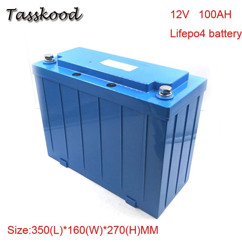 Deep Cycle Lithium Li Ion Battery Pack 12V 100Ah , Solar LiFePO4 12V 100Ah Battery for Ev,Golf car ,Electric bike