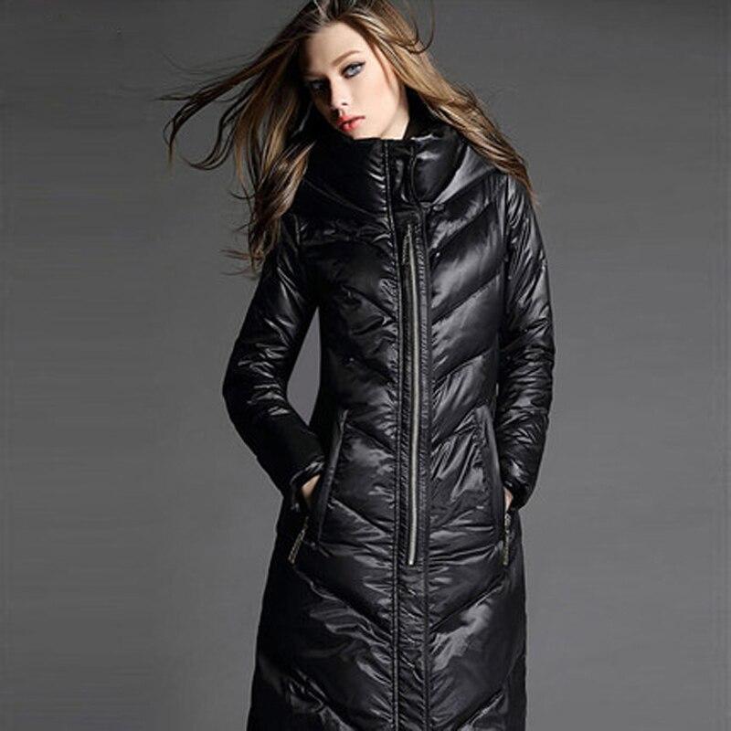 Aliexpress.com : Buy 2017 New Long Winter Jacket Women White Duck ...
