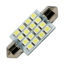 1pcs Super Bright 31mm 36mm 39mm 41mm 16 SMD Car Interior Dome Festoon LED Light Bulbs Lamp White 12V