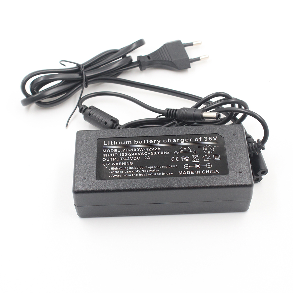 36 V 2A charger 10 Series lithium battery charger 42 V electric vehicle lithium battery charger