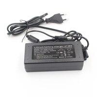 Cargador de batería de litio 36 V 2A serie 10 cargador de batería de litio 42 V cargador de batería de litio para vehículo eléctrico conector de paquete de batería de litio|Cargadores| |  -
