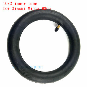 Image 1 - 新アップグレードインナータイヤインフレータブルタイヤカメラ 10 × 2 チューブxiaomi mijia M365 電動スクータータイヤ交換インナーチューブ