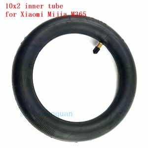 Image 1 - Nowa zmodernizowana opona wewnętrzna nadmuchiwana opona 10x2 Tube dla Xiaomi Mijia M365 wymiana opony elektrycznej skuter wewnętrzna rura