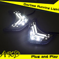 One-Stop Shopping for Kia Sorento DRL 2009-2012 Sorento LED DRL Taiwan Daytime Running Light Fog Lamp Automotive Accessories