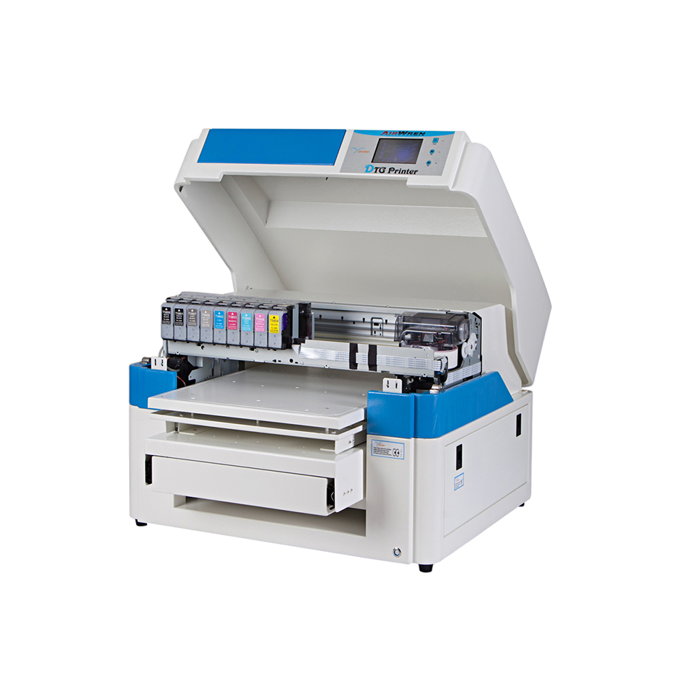 A2 Flatbed DTG T-shirt Printer For Sale Touch Screen Control System