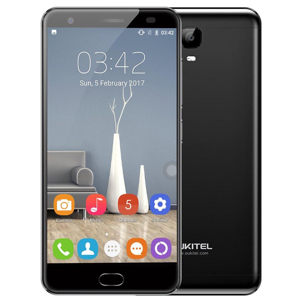 OUKITEL OK6000 Plus 4G Smartphone 5.5 pouce Android 7.0 Octa base 1.5 GHz 4 GB RAM 64 GB ROM 6080 mAh Avant Tactile ID Version Américaine