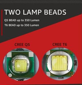 Image 5 - מכירה לוהטת LED פנס XML T6 טקטי פנס Q5 מיני לפיד עמיד למים כיס פנס UV פנס עקרב