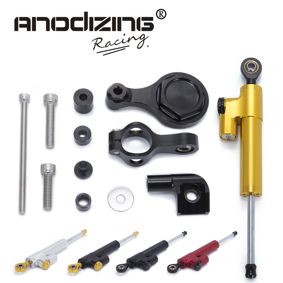 Motorcycle CNC Steering Damper Stabilizerlinear Reversed Safety Control with Bracket For YAMAHA YZF R1 R6 2006-2015 philips avent чашка поильник с носиком 260мл с 12 мес