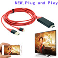 Mirror Phone to TV For iPhone to HDMI TV Converter Video USB Charging Charger Cable For iPad iPhone 7 6 6S Plus 5 5s
