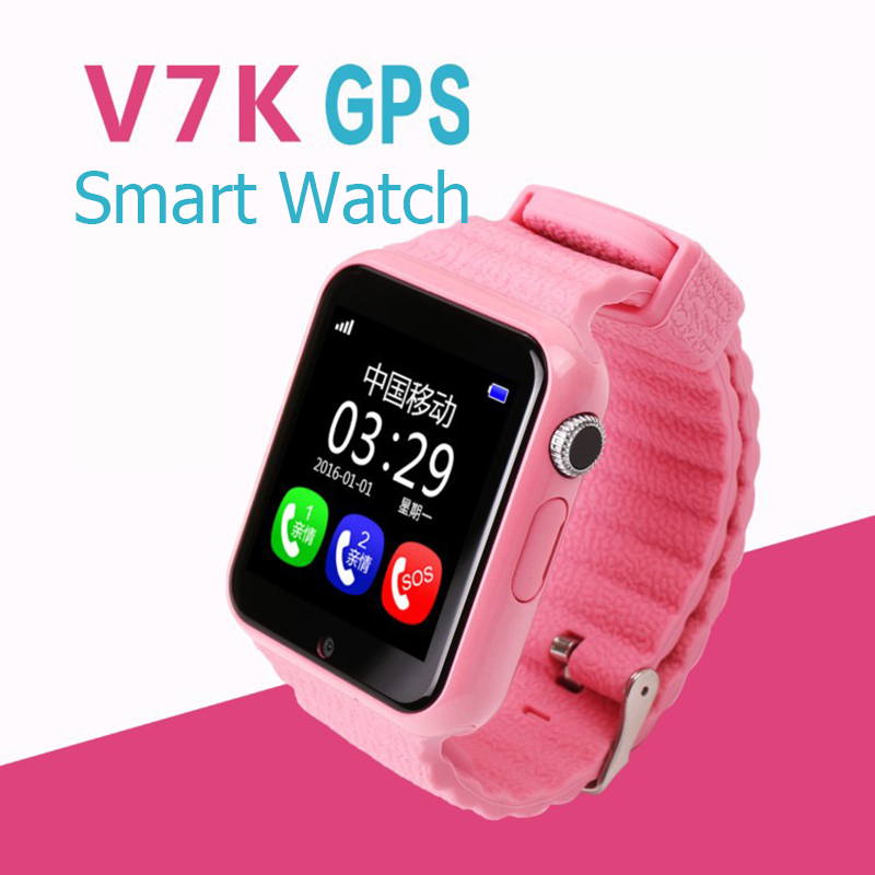 Lemado V7K GPS Smart Watch Kids Waterproof Smart watch with Camera Facebook SOS Call Anti Lost